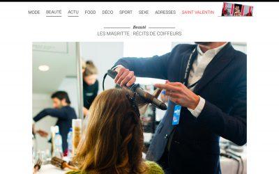 LES MAGRITTE : RÉCITS DE COIFFEURS | ELLE Magazine